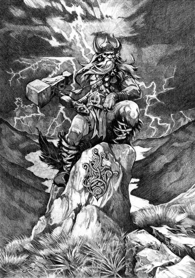 thor son of odin on justruminating men's blog