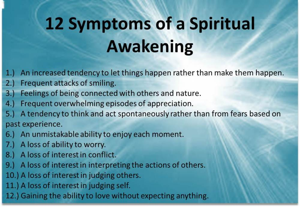 Signs of A Spiritual Awakening