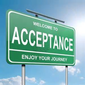 acceptance on justruminating men's blog